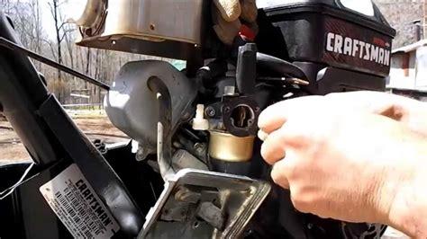 cleaning rototiller carburetor   runs  youtube