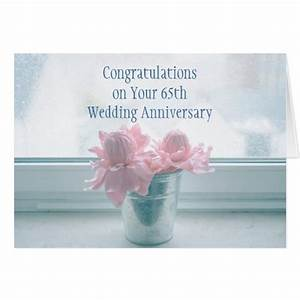 65th wedding anniversary card zazzle With 65th wedding anniversary gifts
