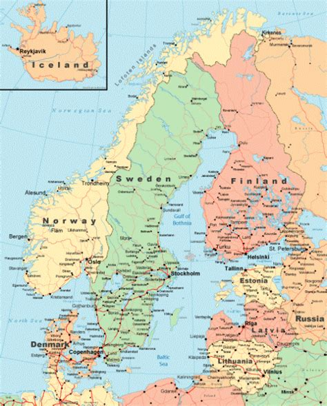 Which For The Nordic Countries Northern Lights Computers And In Nordic Countries