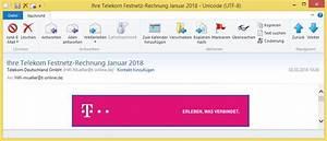 In Telegence Gmbh Auf Telekom Rechnung : ihre telekom festnetz rechnung januar 2018 von telekom deutschland gmbh hifi mueller t online ~ Themetempest.com Abrechnung