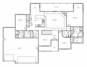 one level house plans with basement greatroom ranch house plan single level great room ranch basement plan the house plan site