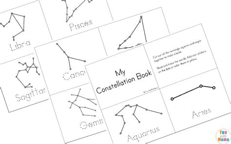 constellation of capricorn worksheet constellation printable pack