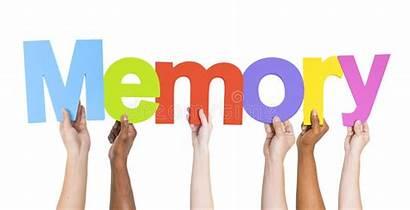 Memory Word Hands Holding Diverse Memorial Dreamstime