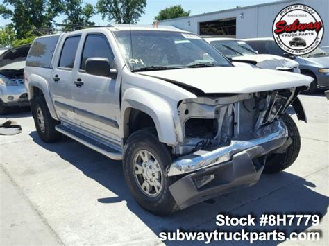 Chevrolet Colorado Parts by Used Parts 2006 Chevrolet Colorado Z71 3 5l Subway Truck