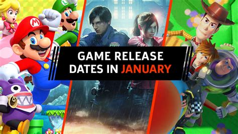 Game Release Dates In January 2019