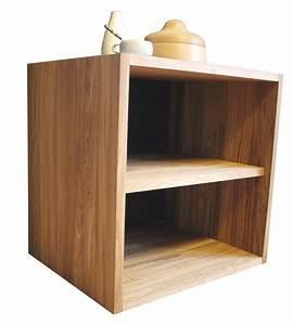 étagère Basse Bois : etagere basse bois massif ~ Teatrodelosmanantiales.com Idées de Décoration