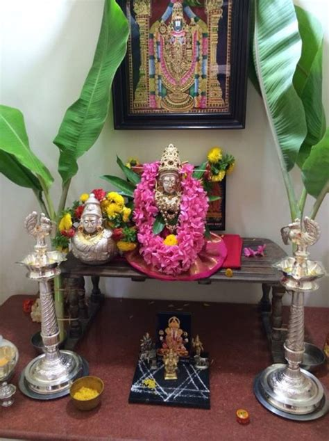 Varalakshmi Vratham Decoration Ideas Usa by Pooja Room Decoration Ideas For Varalakshmi Pooja Room