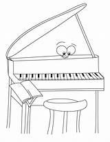 Piano Coloring Desenho Feliz Calendar Colorir Tudodesenhos Moto Tangan Template Imprimir sketch template
