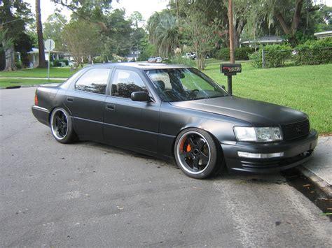 lexus black paint shooting the ls400 with satin black paint club lexus forums