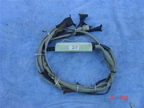 Porsche 914 Wiring Harnes by 2 0 914 Fuel Injection Wiring Harness Pelican Parts Forums