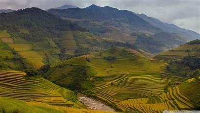 Vietnam Wallpapers Rice Terraces Desktop War 4k