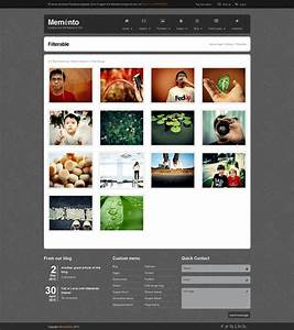 memento un template html free your inspiration web With art gallery html template