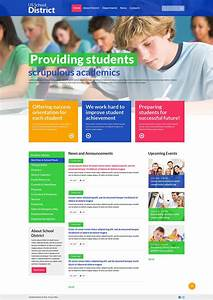 University Responsive Website Template  49137