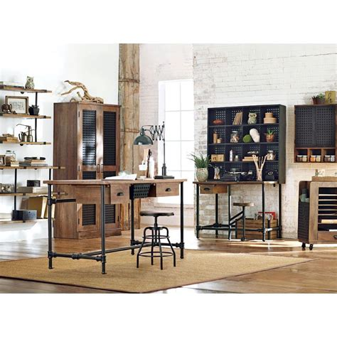 home decorators collection weathered black desk