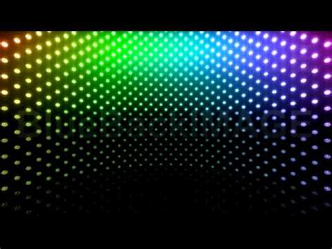 stock footage led light wall neon disco flash cb1 btr youtube