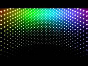 Stock Footage LED Light wall neon disco flash Cb1 BTR