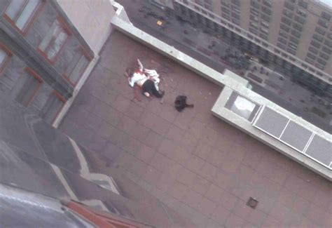 Jumper Landed On Another Roof And Died