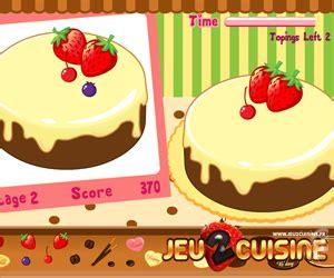 jeux de cuisine de cake jeux de fille cuisine