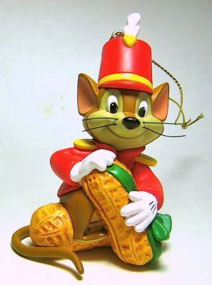 timothy mouse  peanut ornament grolier