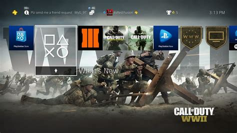 how to download the call of duty world war 2 theme for the ps4 call of duty world war 2