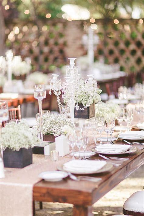 Reception Décor Photos Rustic Elegant Table Decorations