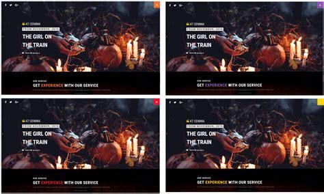theatre responsive website template at cinema free responsive movie theater website template