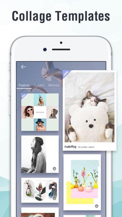 iphone collage maker instamag photo collage maker app voor iphone ipad en Iphon