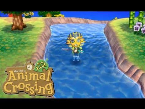 Animal Crossing New Leaf Riverfluss Glitch (walking Through The River) Youtube
