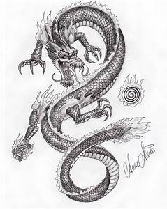 dragon drawings by xiphoidhonei - 25   Dragons in Black ...