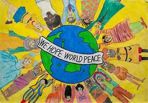 We hope world peace | Children Map Their World
