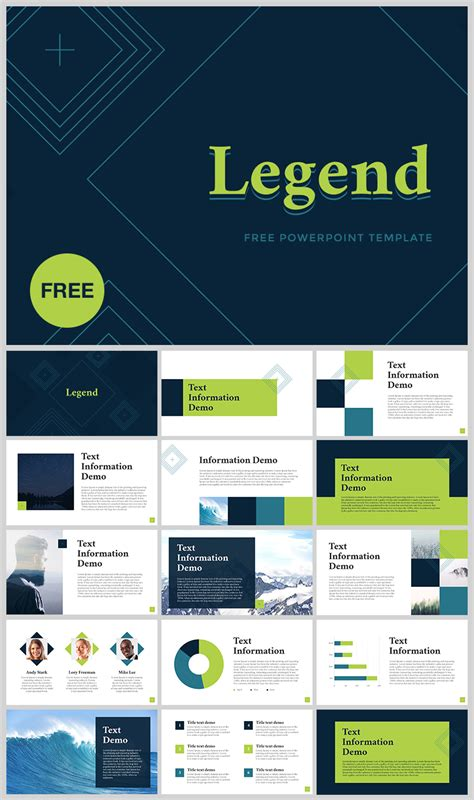 "Free Powerpoint Template ""legend""  Download Link"