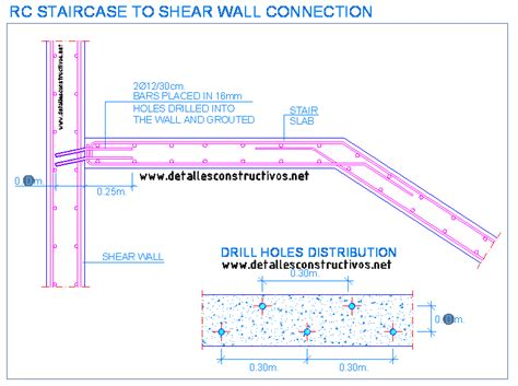 Online Deck Design Software by Rc Staircase To Shear Wall Connection