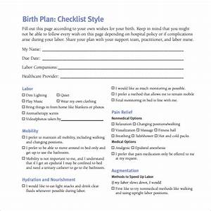 Birth plan template 20 download free documents in pdf word for Birth plan template australia