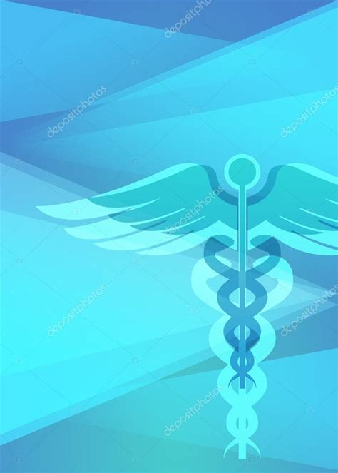 medical care booklet vertical format  page stock
