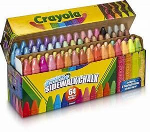Crayola Sidewalk Chalk Washable Outdoor Gifts for Kids