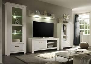 Möbel Wohnzimmer Modern : anbauwand toskana landhausstil wei modern wohnzimmer sonstige von m bel wolf ~ Buech-reservation.com Haus und Dekorationen