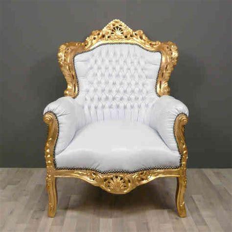 siege baroque fauteuil baroque pas cher meuble baroque