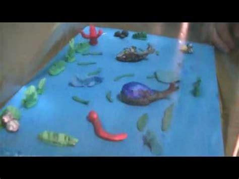 maqueta de ecosistema acu 225 tico 11 youtube