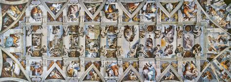 Painted The Ceiling Of The Sistine Chapel In Rome by Dinge En Goete Things And Stuff This Day In History