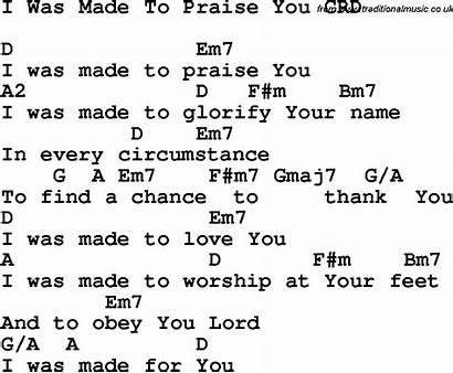 Praise Christian Chords Lyrics Song Songs Crd