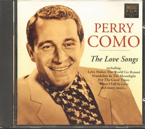 perry como songs perry como cd love songs cd bear family records