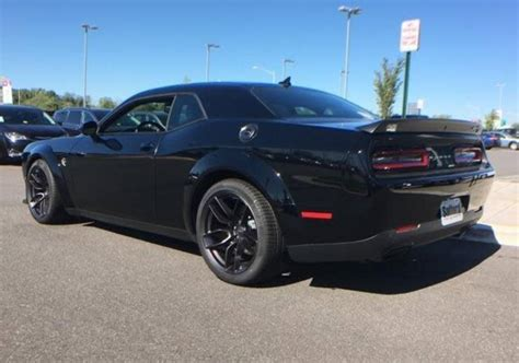 Any 2018 challenger widebody for sale on lots yet?   SRT