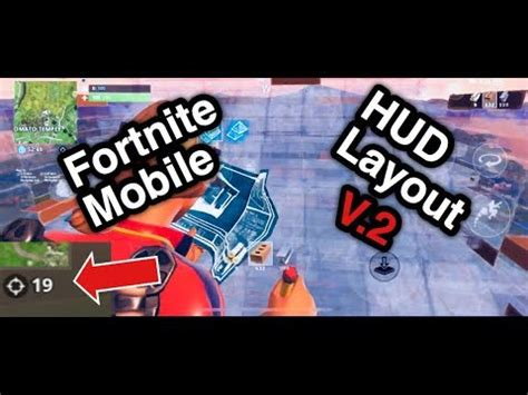 fortnite mobile iphone hud layout  finger claw turbo