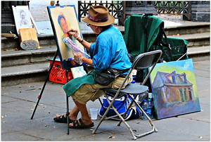New Orleans Homes and Neighborhoods » Artist at work in ...