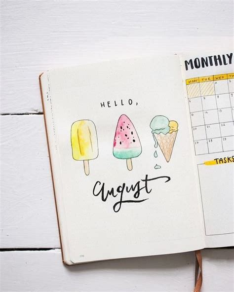 august bullet journal covers thatll blow  mind