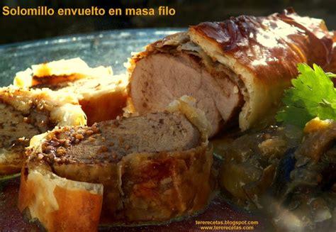 blog las recetas de tere solomillo de cerdo envuelto en