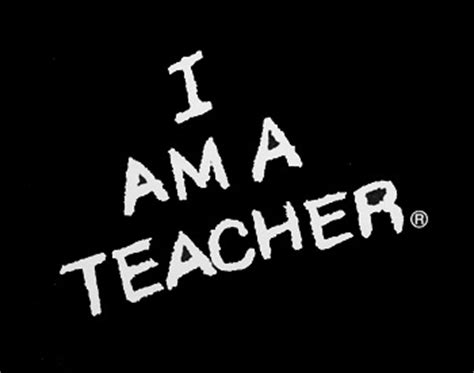 I Am A Teacher Iii