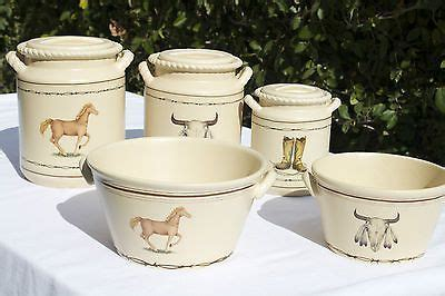 Western Kitchen Canister Sets by 10 Best Country Western Kitchen Canister Sets Images On