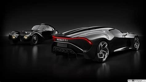 La voiture noire is a tribute to bugatti's own history, a manifesto of the bugatti aesthetic and a piece of automotive haute couture. Old Bugatti and new La Voiture Noire HD wallpaper download
