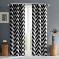 mainstays chevron polyester cotton curtain with bonus